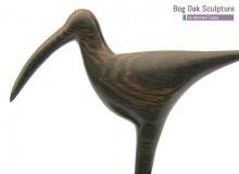 Bog oak Curlew by Michael Casey